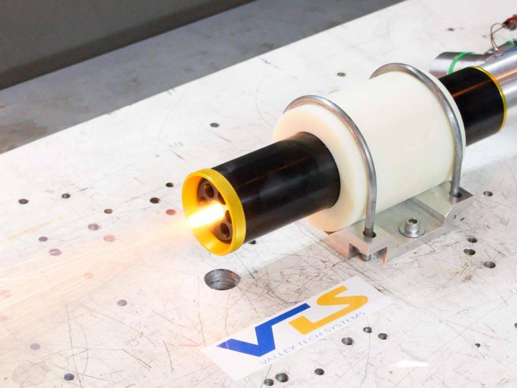 Propulsion hot fire test